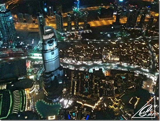 burj khalifa 148F sky