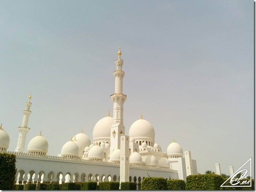 sheikh rashid mosque outside