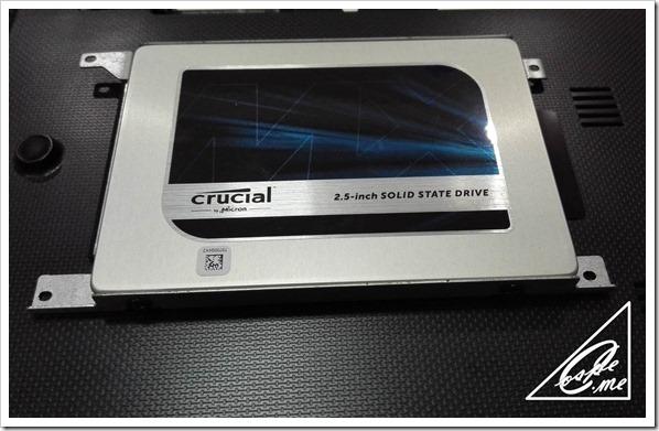 crucial SSD換装 [CT500MX200SSD1] で5年間使ったノートPCを復活させてみた俺