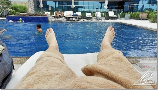 dubai jw marriott pool