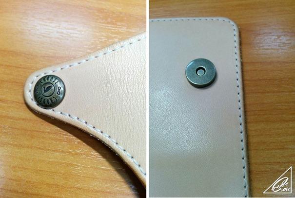 smart phone case button